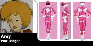Amy Vandergelt as Pink Ranger for EarWaxKid by AdrenalineRush1996