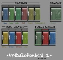 Hydroponics Color Pack by blueslaad