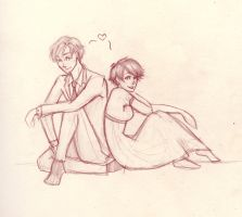 Tamaki and Haruhi by LikeATowtruck