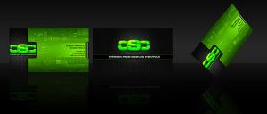 CSC Logo and Personal Card by obsid1an
