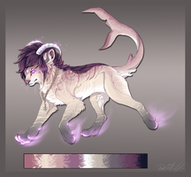 Design commission for GalactiaCat by FrayedEntity