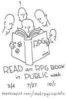 Read an RPG Book logo by fossilapostle