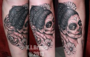 Another Day of the Dead piece by danktat