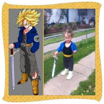 Future Trunks cosplay! by ReinandRich