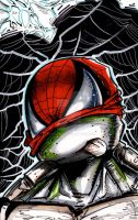 TMNT + SPIDERMAN MIXED ?!? SPIDER-TURTLE! by U-D0NT-KN0W-ME