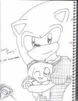 Sonic and Bunny by shadow54379