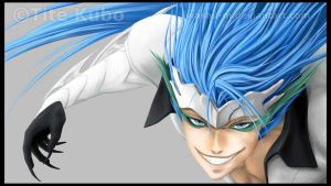 GRIMMJOW - Y U NO RUN? by Washu-M