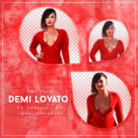 DEMI LOVATO PNG Pack #1 by LoveEm08