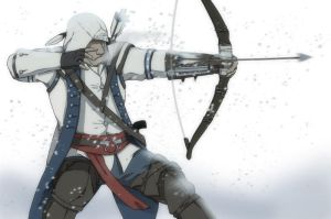 Connor Kenway by dagreenpillow