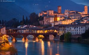 Bassano del Grappa Bridge by SimonePomata
