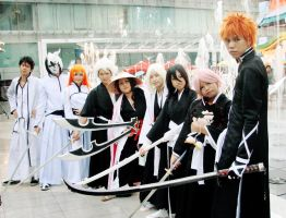 Japan Festa- August 2012: Bleach Group by HRecycleBin