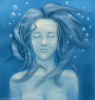 Underwater Mourning by xmallory08