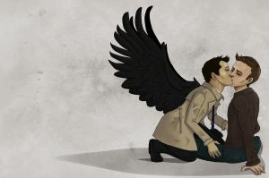 Supernatural- Kiss by Arei-chan