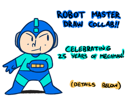 Robot Master Collab(CLOSED) by WaywardDoodles