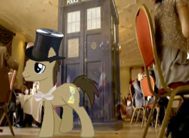 dr whooves arrives at amy and rorys wedding XD by chappy-rukia