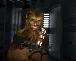 Chewie by THECOOLGEEK