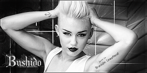 Miley Cyrus PB - Bushido by BrunaDM