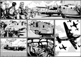 Warbirds of Mars pg7 Art by DocRedfield