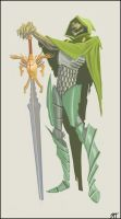 The green knight by davidhueso