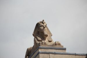 Sphinx on the Roof - Manitoba Legislative Building by Joe-Lynn-Design