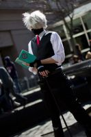 Reading like a Sir by Suki-Cosplay