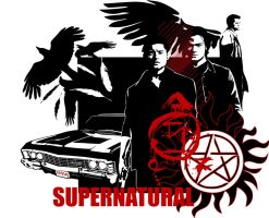 SUPERNATURAL_SEASON 5 by Mad42Sam