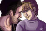 Dad son moment by Aspi-Galou