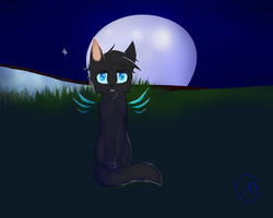 Moonlight [Request] by KuraudoKoneko