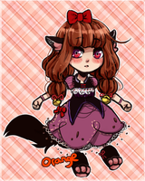 Open: Wolf Girl (Offer-to-adopt) by Stuffed-orange
