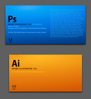 Adobe CS5 Splashes - CS4 Style by larzon83