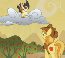 COM : Spirit Storm and Braeburn by Ruaniamh