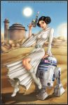 Princess Leia - R2D2 by diabolumberto