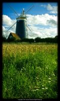 Burnham Overy Staithe Windmill by David-Picknell
