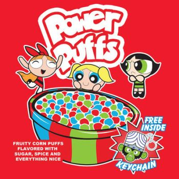 Power Puffs Cereal by Moysche