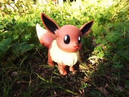 Eevee in the Evening by InkeyCat