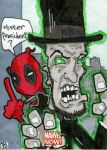Marvel Now - Deadpool and Zombie Lincoln by 10th-letter
