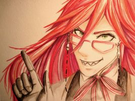 Grell Sutcliff by whitewestie13