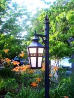 Tiger Lily Lamp by Sognatore-Turchese