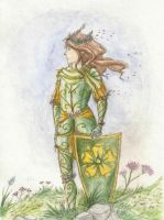 Knight of the Flowers by Woodsie-One