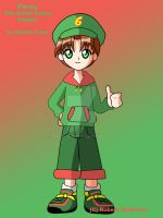 Percy in Anime Form by Robie-Chan