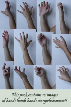 Hand Reference 4 by Tasastock