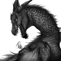 Dragon by iit0xicpandaii