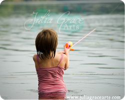 Little Fisher by JuliaGraceArts