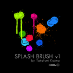 SPLASH BRUSH v1 by TakafumiKojima