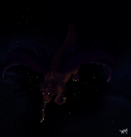 Night Flight by WolfAngelStar