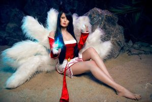 Ahri cosplay by MrProton