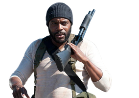 Tyreese season 4 The walking dead Render by twdmeuvicio