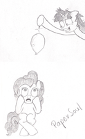 Not the balloooon! by FilPaperSoul