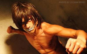 My Eren Titan Cosplay by DiegoContrerasP