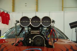 Chevrolet Dragster Engine by Heavymedicated